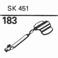 MERULA SK-451 Stylus, diamond, stereo