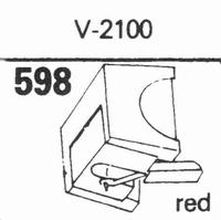 MICRO V-2100 Stylus, diamond, stereo