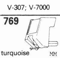 MICRO V-307, V-7000 Stylus, diamond, stereo