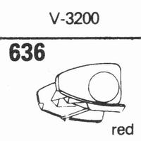 MICRO V-3200 Stylus, diamond, stereo
