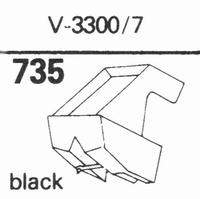 MICRO V-3300/7 Stylus, diamond, stereo