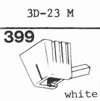 MITSUBISHI 3D-23 M, 3D-24 M Stylus, diamond, stereo