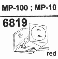 NAGAOKA JN-P100 FOR MP-100 Stylus