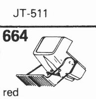NAGAOKA JT-511 Stylus, DS<br />Price per piece