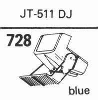 NAGAOKA JT-511 DJ Stylus, DS<br />Price per piece