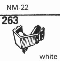 NAGAOKA NM-22 - IVORY Stylus, diamond, stereo