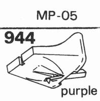 NAGAOKA NMP-05 STYLUS PURPLE Stylus, DS-PURPLE