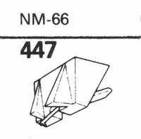 NAGAOKA/TONAR NM-66 Stylus, diamond, stereo