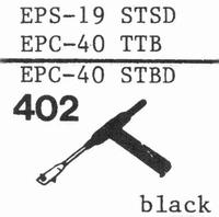 NATIONAL EPS-19 STSD Stylus, sapphire normal (78rpm) + sapph