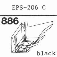 NATIONAL EPS-206 C Stylus, diamond, stereo
