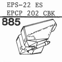 NATIONAL EPS-22 ES, EPS-23 ES, Stylus, diamond, stereo