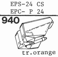 NATIONAL EPS-24 CS, Stylus, diamond, stereo