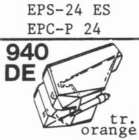 NATIONAL EPS-24 ES, Stylus, diamond, elliptical