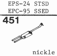 NATIONAL EPS-24 STSD Stylus, diamond, stereo