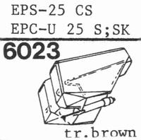 NATIONAL EPS-25 CS, Stylus, diamond, stereo