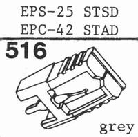 NATIONAL EPS-25, 25 STSD Stylus, diamond, stereo