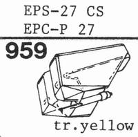 NATIONAL EPS-27 CS, EPS-28 CS, Stylus, diamond, stereo