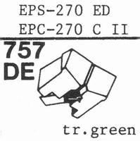 NATIONAL EPS-270 ED Stylus, diamond, elliptical