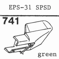 NATIONAL EPS-31 SPSD Stylus, diamond, stereo