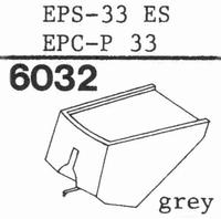 NATIONAL EPS-33 ES, Stylus, diamond, elliptical