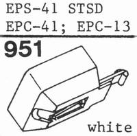 NATIONAL EPS-41 STSD Stylus, diamond, stereo