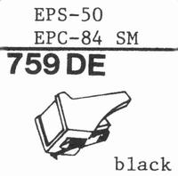 NATIONAL EPS-50,51,5Ω,205 ED Stylus, diamond, elliptical