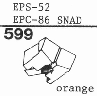 NATIONAL EPS-52 Stylus, diamond, elliptical