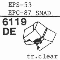 NATIONAL EPS-53 ES, Stylus, diamond, elliptical