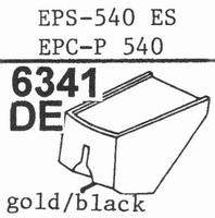 NATIONAL EPS-540 ES, Stylus, diamond, elliptical