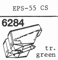 NATIONAL EPS-55 CS, Stylus, diamond, stereo