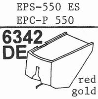 NATIONAL EPS-550 ES, Stylus, diamond, elliptical