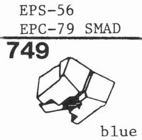 NATIONAL EPS-56 Stylus, diamond, stereo