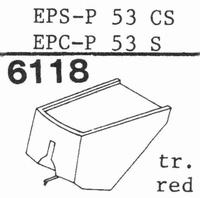 NATIONAL EPS-P 53 CS, Stylus, diamond, stereo