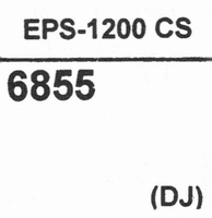 NATIONAL TECHNICS EPS-1200 CS, Stylus