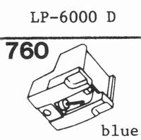 NEC LP-6000 D Stylus, diamond, stereo
