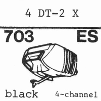 NIVICO 4DT-2X SHIBATA TIP Stylus