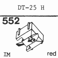 NIVICO DT-25 H Stylus, diamond, stereo