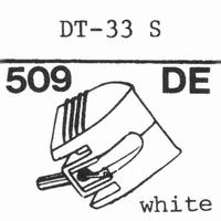 NIVICO DT-33 S, Stylus, diamond, elliptical