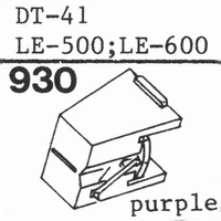 NIVICO DT-41; LE-500; LE-600 Stylus, DS