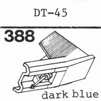 NIVICO DT-45 Stylus, diamond, stereo
