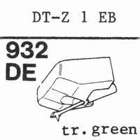 NIVICO DT-Z 1 EB Stylus, diamond, elliptical