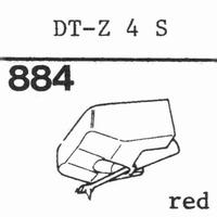 NIVICO DT-Z 4 S, Stylus, diamond, stereo