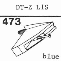 NIVICO DT-Z L1S, Stylus, diamond, stereo
