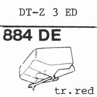 NIVICO JVC DT-Z 3 ED, DT-Z 4 S, Stylus, diamond, elliptical