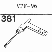 NIVICO VPF-96 Stylus, sapphire normal (78rpm) + sapphire ste