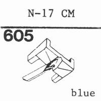 NSM/WURLITZER N-17 CM Stylus, diamond, stereo