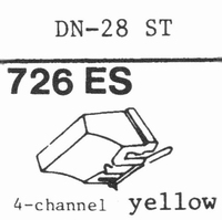ONKYO DN-28 ST(QUADRATIP) Stylus, ES<br />Price per piece