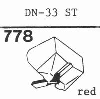 ONKYO DN-33 ST Stylus, diamond, stereo