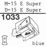 ORTOFON D-15 E SUPER * COPY * Stylus, DE