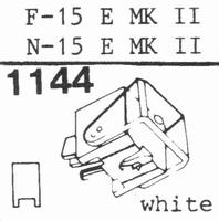 ORTOFON N-15 E MK II -COPY- Stylus, DE<br />Price per piece